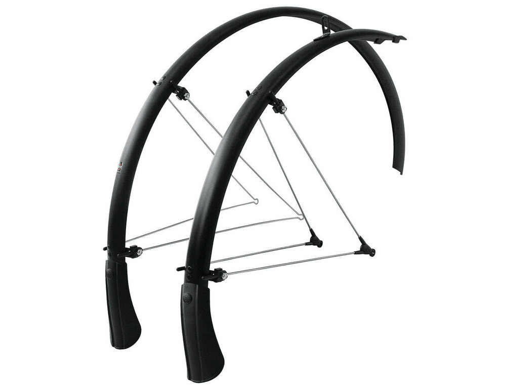 "SKS Bluemels Mountain Mudguard Set Black 26"" 65mm click to zoom image"