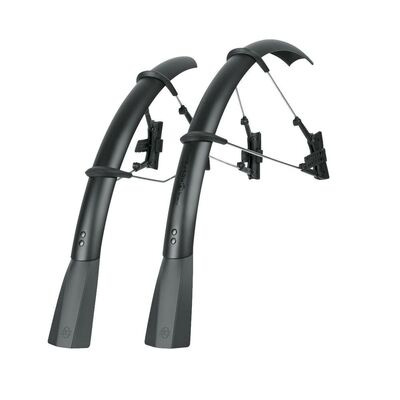 SKS Raceblade Pro Stealth Series Mudguard Set Matt Black