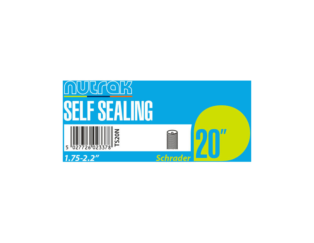 "NUTRAK 20x1.75 - 2.125"" Schrader - self-sealing click to zoom image"