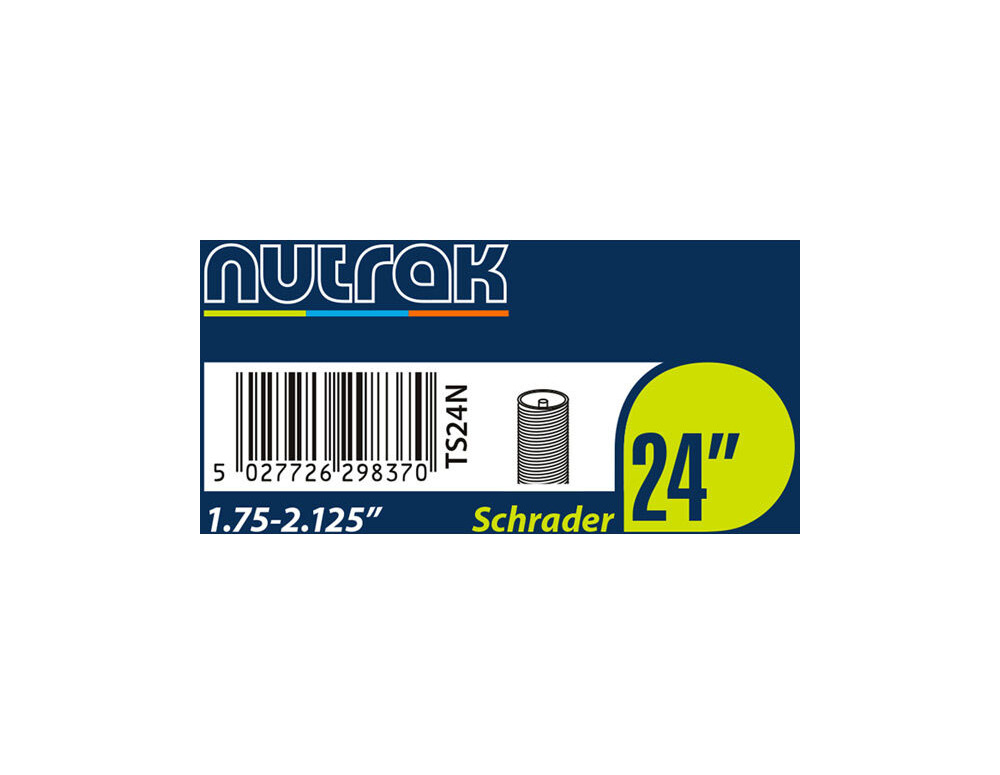 "NUTRAK 24x1.75 - 2.125"" Schrader - self-sealing click to zoom image"