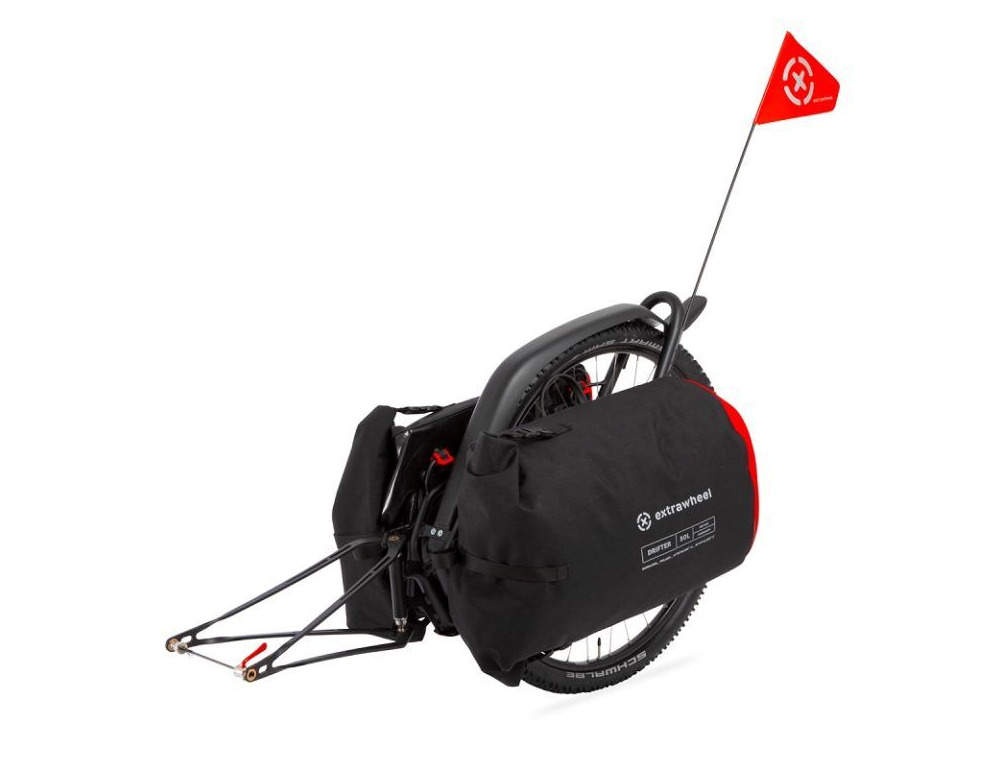 EXTRAWHEEL Brave with Drifter 100L Bags click to zoom image