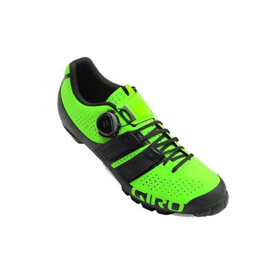 GIRO Code Techlace MTB Cycling Shoes Lime/Black