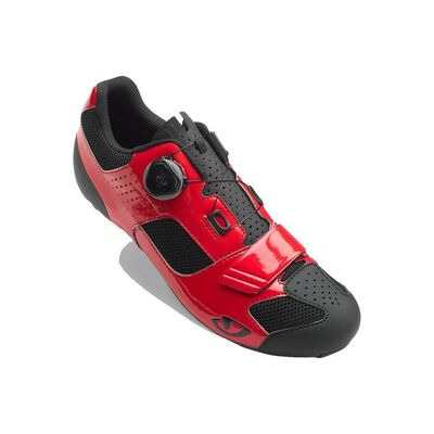 GIRO Trans (Boa) Road Cycling Shoes Bright Red/Black