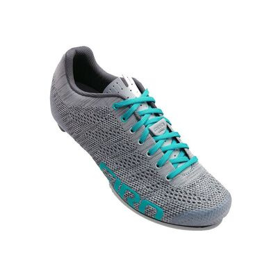 GIRO Empire E70 Knit Women's Road Cycling Shoes Grey/Glacier