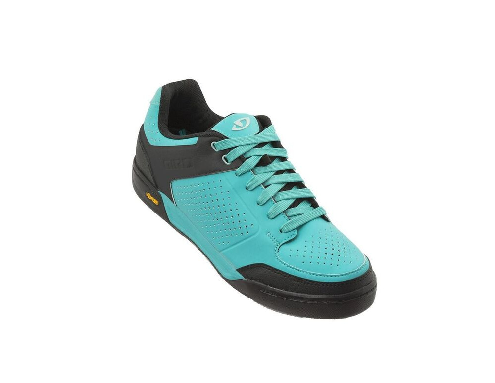 GIRO Riddance Women's MTB Shoe Glacier / Mint click to zoom image