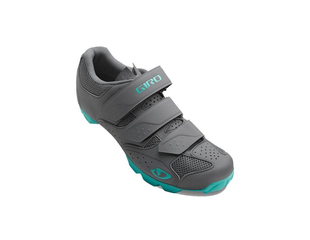 GIRO Riela Rii Women's MTB Cycling Shoes Dark Shadow/Glacier click to zoom image