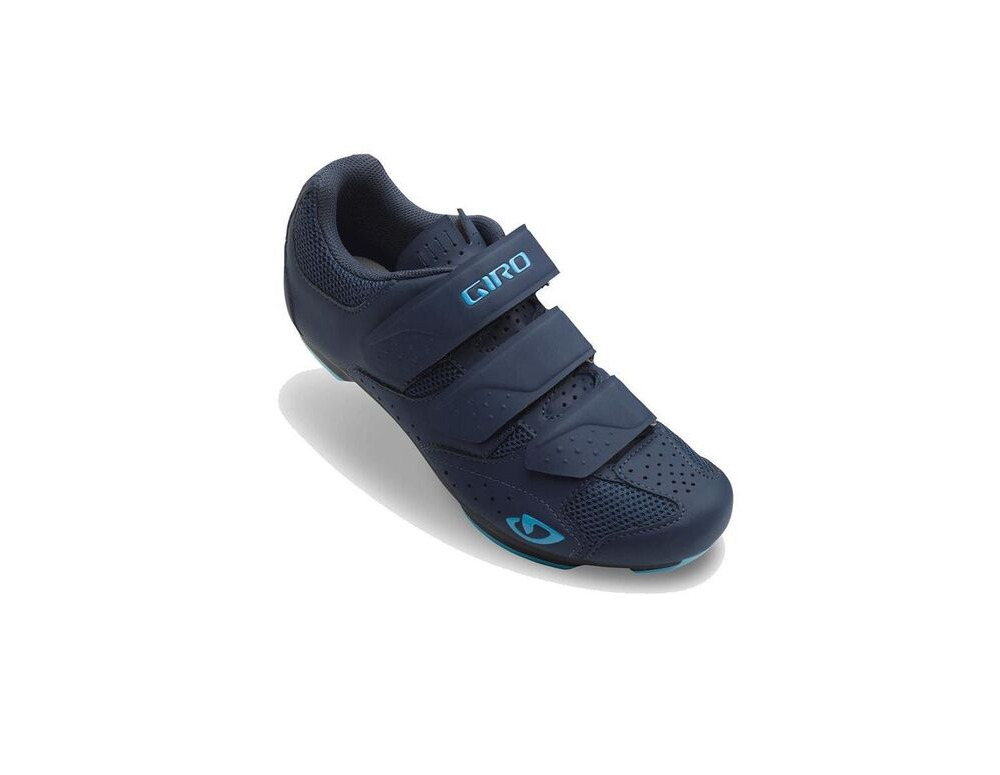GIRO Rev Women's Road Cycling Shoes Midnight/Iceberg click to zoom image