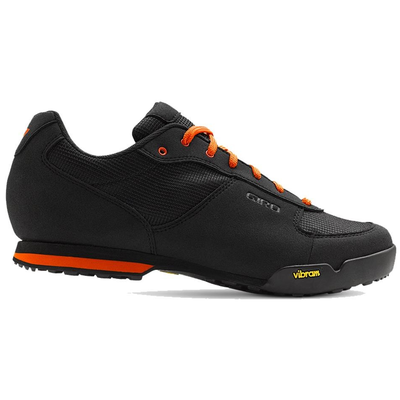 GIRO Rumble VR Shoes Black/Glowing Red