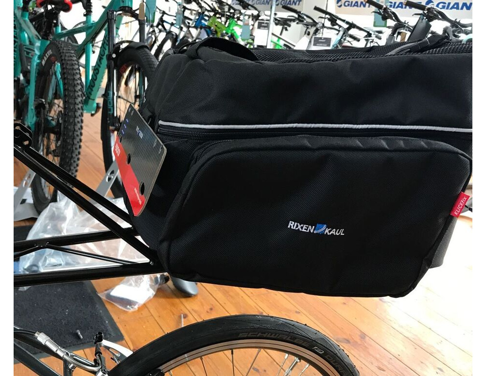 RIXEN KAUL RackPack 2 with Sidebags for Moulton Bicycles click to zoom image
