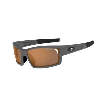 TIFOSI Camrock Full Frame Fototec Interchangeable Lens Sunglasses Matte Gunmetal/Fototec Brown