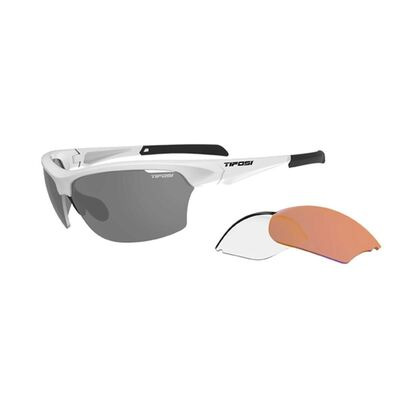 TIFOSI Intense Interchangable Lens Sunglasses Matt White