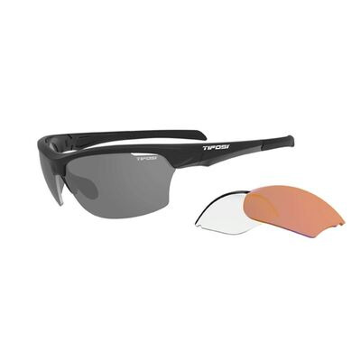 TIFOSI Intense Interchangable Lens Sunglasses Matt Black