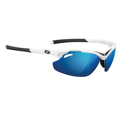 TIFOSI Tyrant 2.0 White/Black Clarion Blue Lens Sunglasses Black Clarion Red