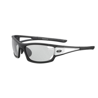 TIFOSI Dolomite 2.0 Black/White Fototec Light Night Lens Sunglasses Black/White