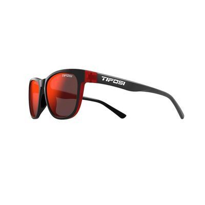 TIFOSI Swank Single Lens Eyewear 2019 Crimson/Onyx/Smoke Red