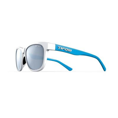 TIFOSI Swank Single Lens Eyewear 2019 Frost/Powder Blue/Smoke Bright Blue