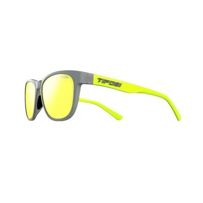 TIFOSI Swank Single Lens Eyewear 2019 Vapor Neon/Smoke Yellow