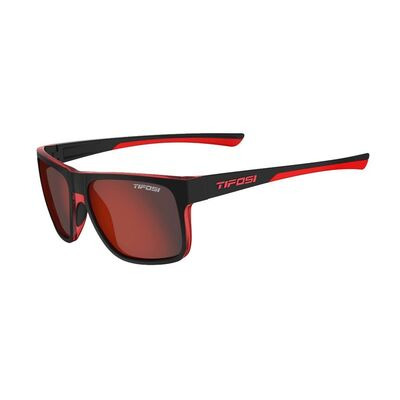 TIFOSI Swick Single Lens Eyewear 2019 Satin Black/Crimson/Smoke Red