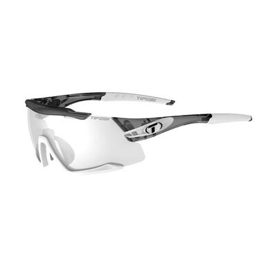 TIFOSI Aethon Fototec Single Lens Sunglasses 2019 Crystal Smoke/White/Fototec Light Night