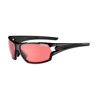 TIFOSI Amok Enliven Bike Red Lens Sunglasses Crystal Black/Enliven Bike Red
