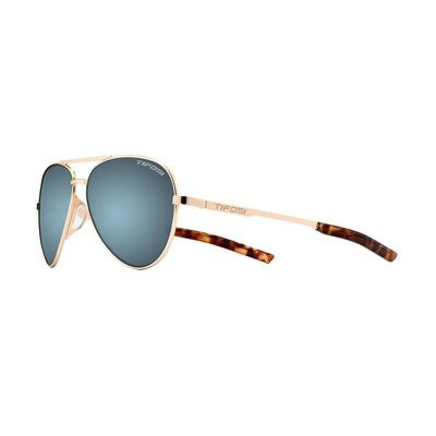 TIFOSI Shwae Single Lens Eyewear Gold/Smoke Bright Blue