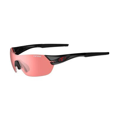 TIFOSI Slice Enliven Bike Red Lens Sunglasses Crystal Black/Enliven Bike Red
