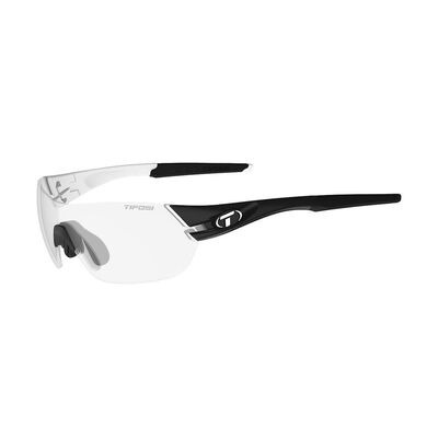 TIFOSI Slice Fototec Light Night Lens Sunglasses Black/White/Fototec Light Night