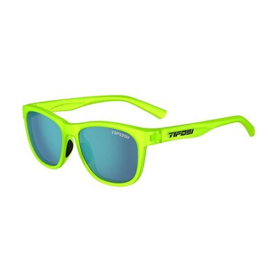 TIFOSI Swank Single Lens Eyewear Electric Blue/Smoke Bright Blue