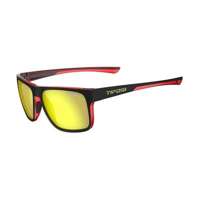 TIFOSI Swick Single Lens Eyewear Crimson/Raven/Smoke Yellow