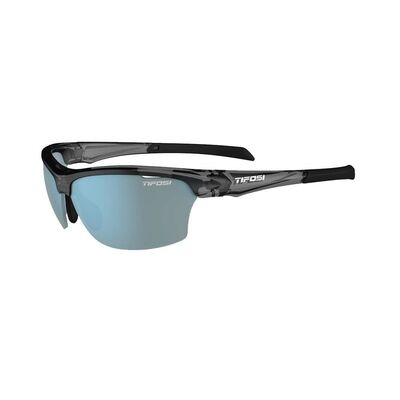 TIFOSI Intense Interchangable Lens Sunglasses Crystal Smoke