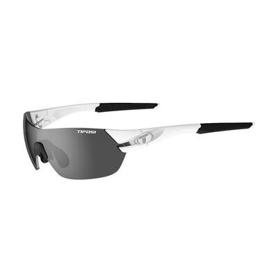 TIFOSI Slice Interchangeable Lens Sunglasses Matte White