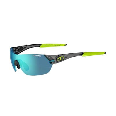 TIFOSI Slice Interchangeable Clarion Blue Lens Sunglasses Crystal Black/Clarion Blue