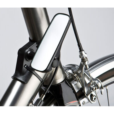 M: PART Adjustable mirror for head tube fitment, narrow, black