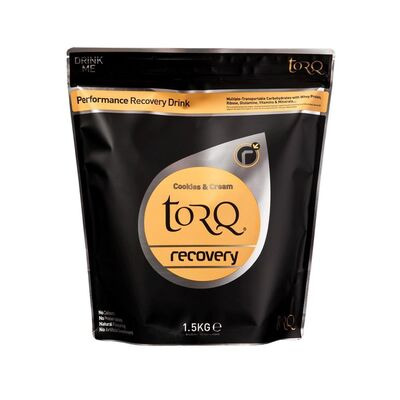 TORQ Recovery Drink (1x 1.5kg) Cookies & Cream