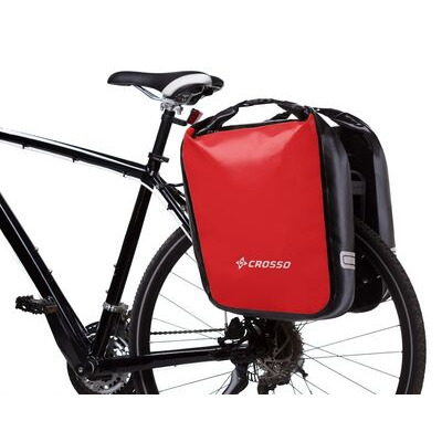 CROSSO Dry 60L (Pair) Rear  Red  click to zoom image