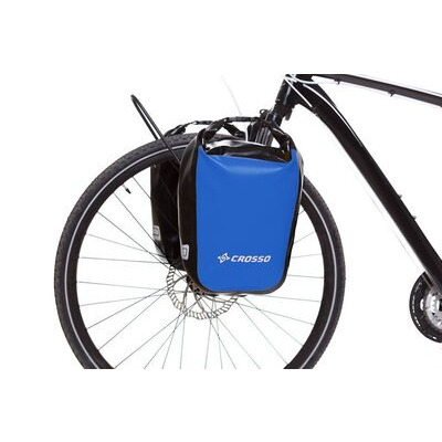 CROSSO Dry 30L Panniers Klickfix  Blue  click to zoom image