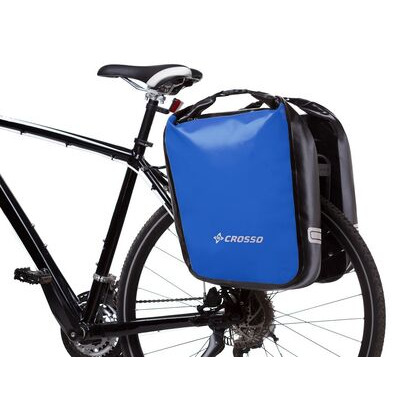 CROSSO Dry 60L Panniers Klickfix  Blue  click to zoom image