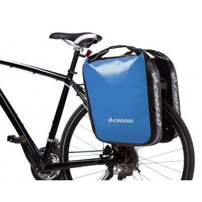 CROSSO Dry 60L Panniers Klickfix  Light Blue  click to zoom image