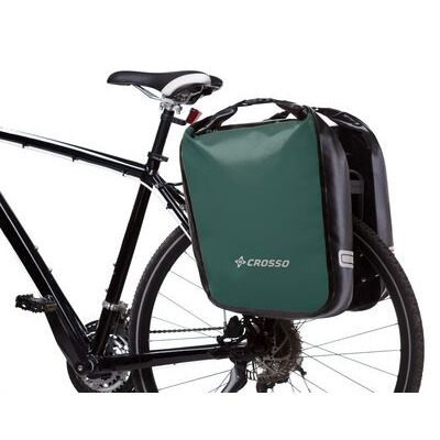 CROSSO Dry 60L Panniers Klickfix  Olive  click to zoom image