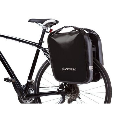 CROSSO Dry 60L Panniers Klickfix  Black  click to zoom image