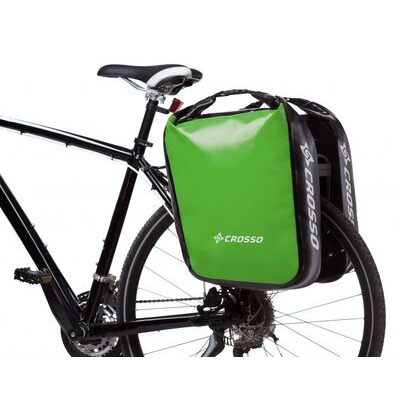 CROSSO Dry 60L Panniers Klickfix  Light Green  click to zoom image