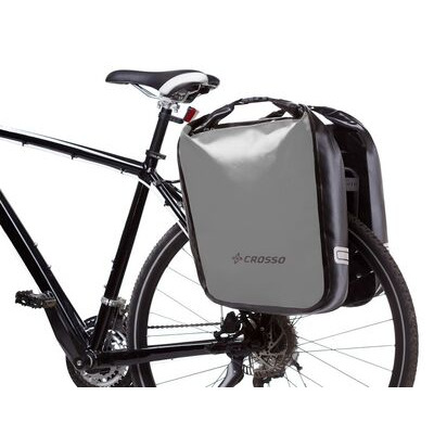 CROSSO Dry 60L Panniers Klickfix  Silver  click to zoom image