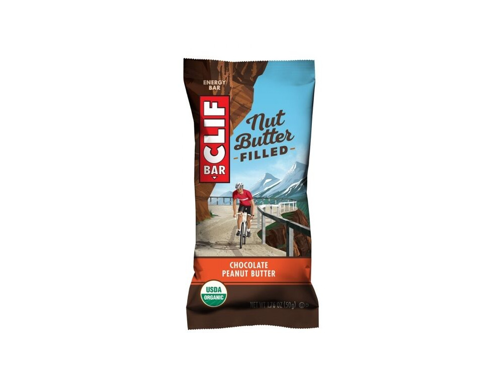 CLIF BAR Nut Butter Filled Chocolate Peanut Butter click to zoom image