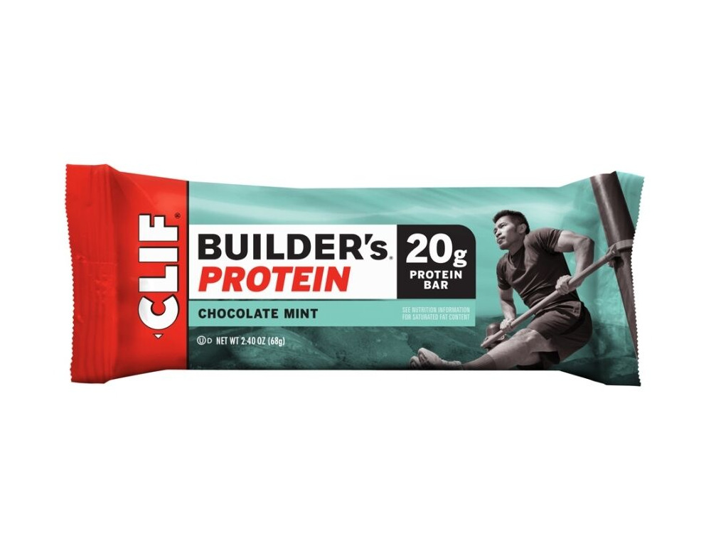 CLIF BAR Builders Chocolate Mint click to zoom image