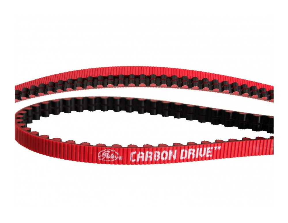 GATES CARBON DRIVE CDX Carbon Drive Belt Red click to zoom image
