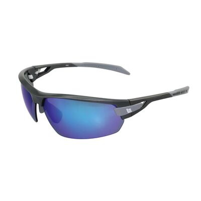 BZ OPTICS PHO Bi-Focal Blue Mirror Glasses Graphite