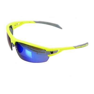 BZ OPTICS PHO Bi-Focal Blue Mirror Glasses Yellow