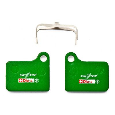 SWISSSTOP Organic Disc Pads D5 - Shimano Deore/Nexave BR-M555 Hydraulic