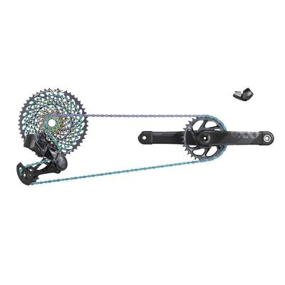 SRAM XX1 Eagle AXS Dub Groupset Black