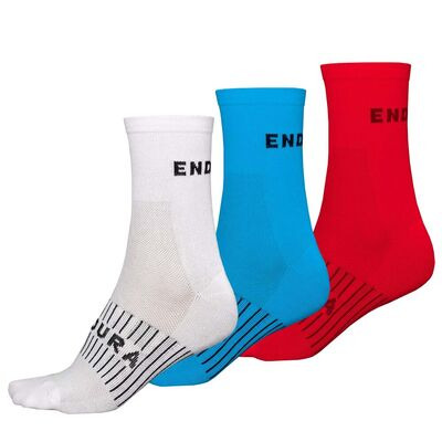 ENDURA Coolmax Race Sock Triple Pack